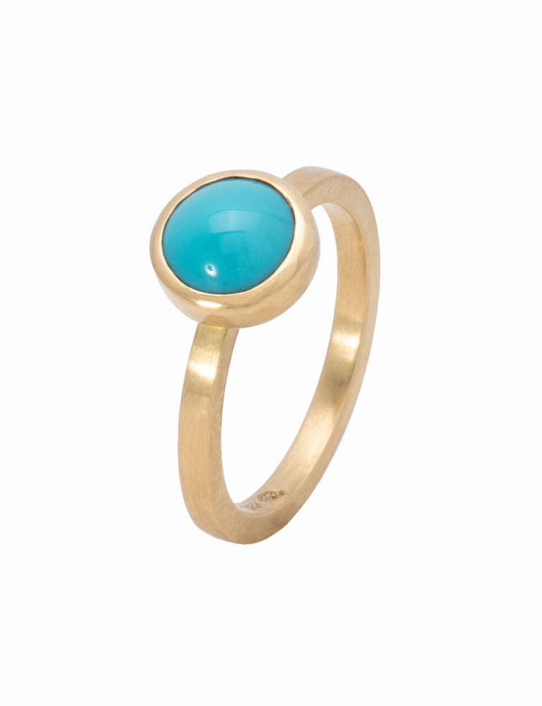 Persian Turquoise Be Mine Ring