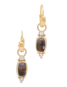 Madagascar Rainbow Moonstone Drops