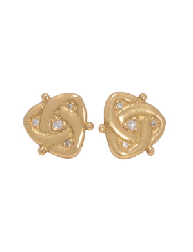Celtic Diamond Studs