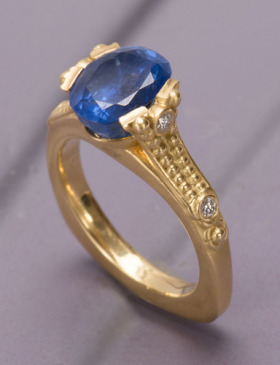 Bombay Sapphire Ring