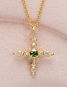 Sparkling Nautical Cross