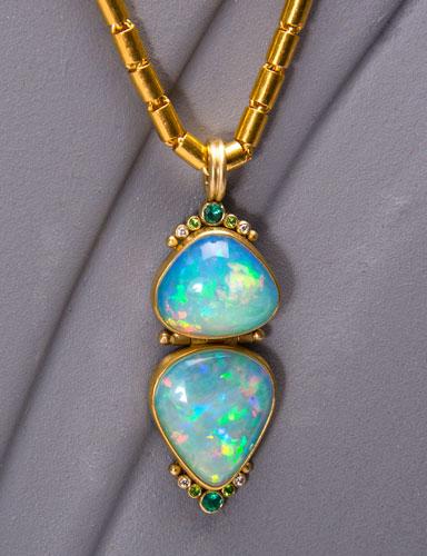 The golden eye ethiopian opal pendant ethiopian opal pendant mozeypictures Choice Image