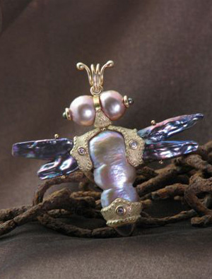Bug Pin and Pendant