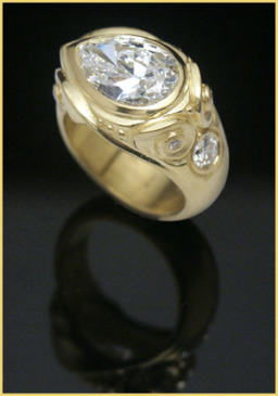 Commissioned Diamond Ring