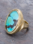 Turquoise Table Ring