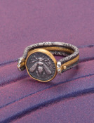 Phoenician Bee Ring