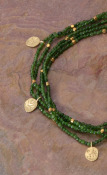Jade Five Strand Necklace
