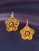 Yellow Citrine Margaritas Earrings