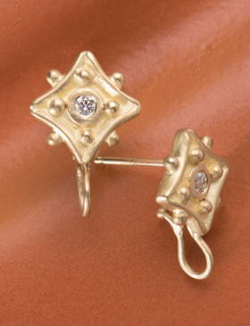 Diamond Kite Hanger Studs