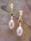 Pink Pearl and Diamond Drops