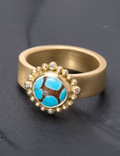 Cloud Nine Turquoise Ring