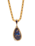 Double-Sided Janus Opal Pendant