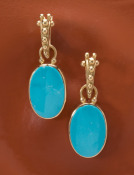 Medium Candelaria Turquoise Drops