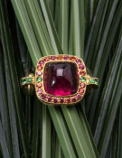Kinetic Tourmaline Ring