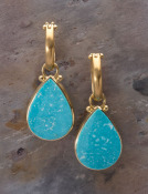 Candelaria Turquoise Teardrops