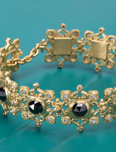 Black Diamond Aphrodite Bracelet