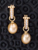 Simple South Sea Pearl Drops