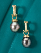 Beehive Top Tahitian Pearls