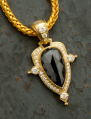 Black Diamond Andromeda Pendant