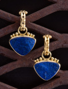 Lapis Soft Triangle Drops
