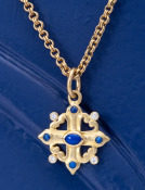Lapis Sophia's Cross