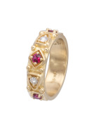 Ruby and Diamond Guinevere Band