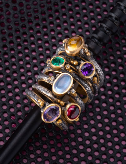Michael Jensen Designs Stacking Rings