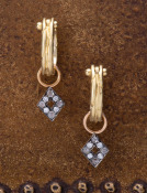 Diamond Pave Diamond Drops