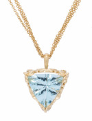 Galatea Aquamarine Pendant Main View