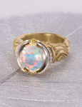 Reflecting Pool Opal Ring