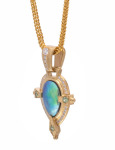 Abalone Andromeda Pendant View 1