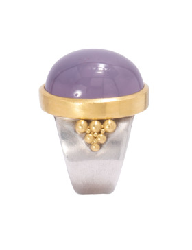Holly Purple Agate Ring
